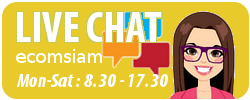 Chat online กับ ecomsiam ติดต่อกับ web hosting thai ecomsiam.com โดยทาง chat -contact us - ecomsiam web hosting